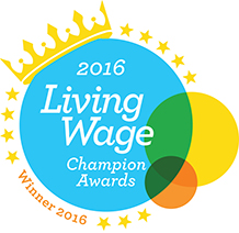 allpay Limited announced as winner of West Midlands Living Wage Champion Award 2016